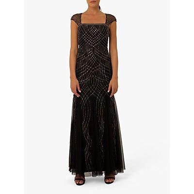 Raishma Lola Embellished Gown, Black