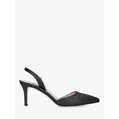 SJP by Sarah Jessica Parker Bliss Sling Back Court Shoes, Navy