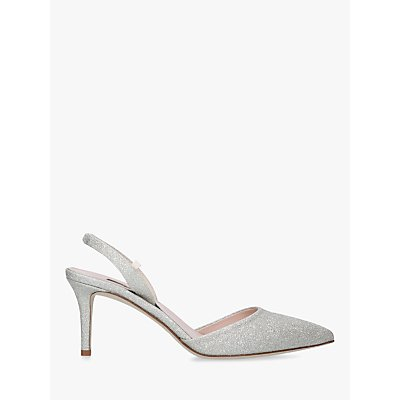 SJP by Sarah Jessica Parker Bliss Sling Back Court Shoes, Silver