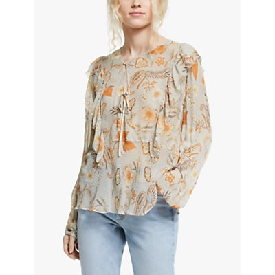 AND/OR Indienne Jojo Floral Blouse, Multi
