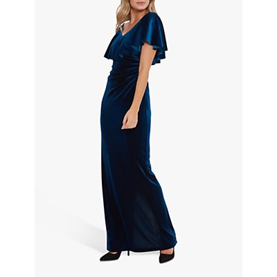 Gina Bacconi Elexina Velvet Dress