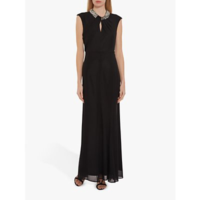 Gina Bacconi Ezra Stretch Mesh Maxi Dress