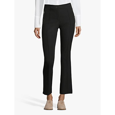 Betty Barclay Crêpe Zip Detail Trousers