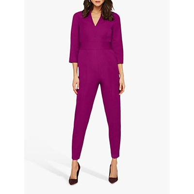 Damsel in a Dress Dayna Tailored Jumpsuit, Magenta