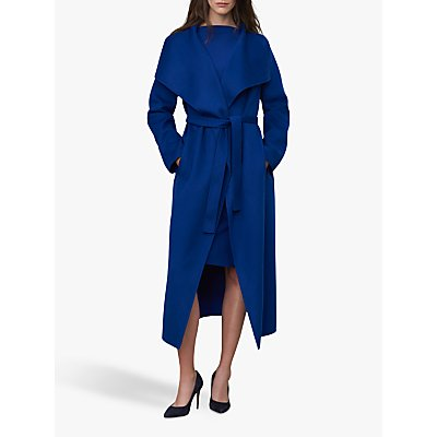 Winser London Lauren Wrap Wool Blend Coat