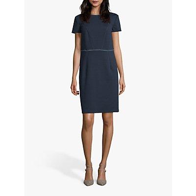 Betty & Co. Stretch Shift Dress, Blue/Petrol