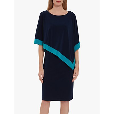 Gina Bacconi Sayuri Cape Dress