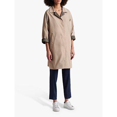 Gerard Darel Diana Reversible Trench Coat, Beige/Khaki