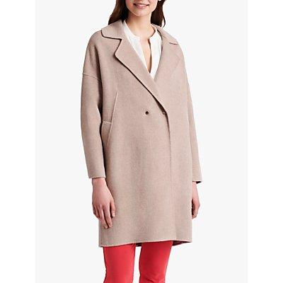Gerard Darel Rachel Longline Wool Coat, Beige