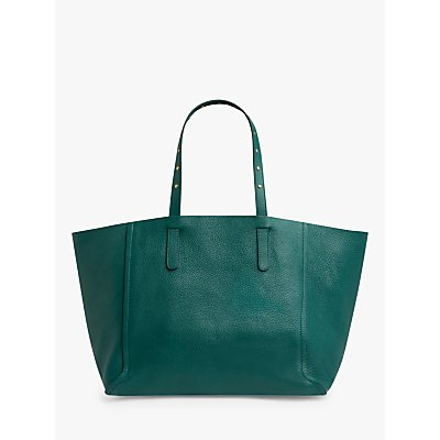 Gerard Darel Simple Two Leather East/West Tote Bag, Green