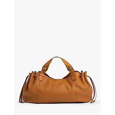 Gerard Darel 24 So Leather Shoulder Bag, Orange