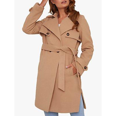 Chi Chi London Cleo Coat, Camel