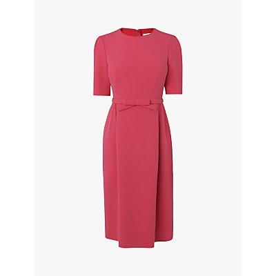 L.K.Bennett Elina Belted Shift Dress, Raspberry