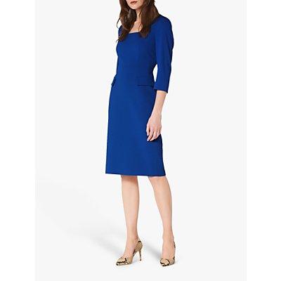 L.K.Bennett Ivor Pencil Dress, Royal Blue