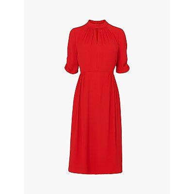 L.K. Bennett Veronique Midi Dress, Red