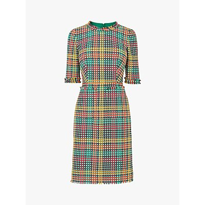 L.K.Bennett Bonnie Tweed Dress, Multi