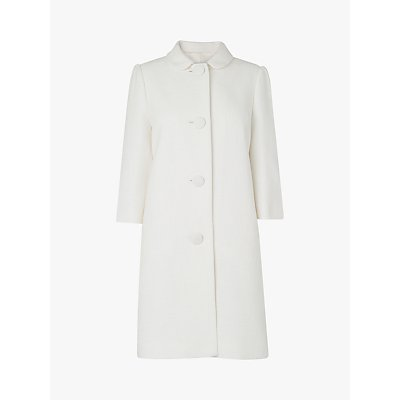 L.K.Bennett Minnie Coat, White