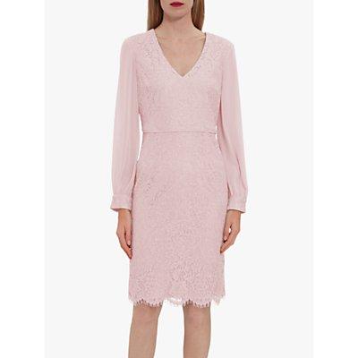 Gina Bacconi Auria Lace Chiffon Dress