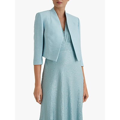 Fenn Wright Manson Caterine Cropped Tailored Jacket, Duck Egg