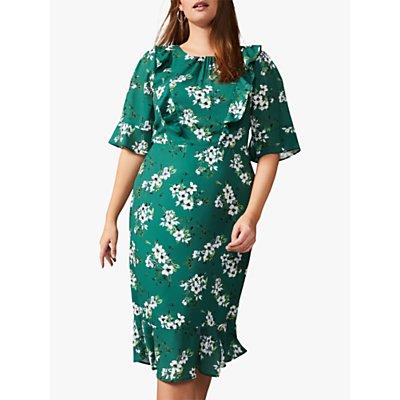 Studio 8 Brielle Floral Dress, Green/Multi