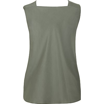 Theory Twist Neck Silk Top, Pale Green