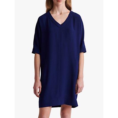 Gerard Darel Siria V-Neck Shift Dress, Blue