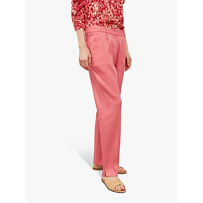 Gerard Darel Monica Wide Leg Trousers, Pink