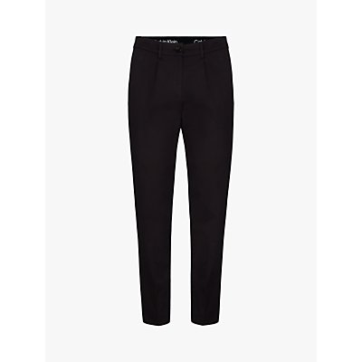 Calvin Klein Tailored Jogger Trousers, Black