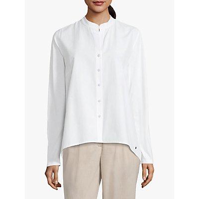 Betty & Co Cotton Blend Shirt, Bright White