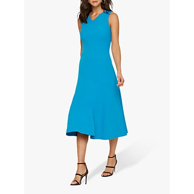 Damsel in a Dress Latasha Seamed Midi Dress, Turquoise