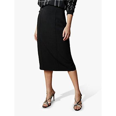 Ted Baker Raees Crepe Pencil Skirt, Black