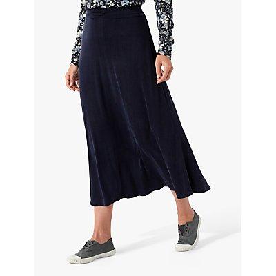 Brora Cupro Blend Midi Skirt