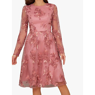 Chi Chi London Vester Dress, Pink