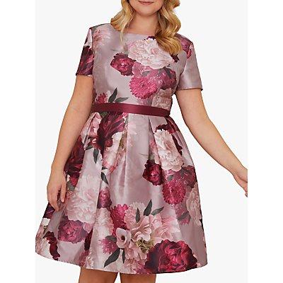 Chi Chi London Curve Fille Dress, Mink