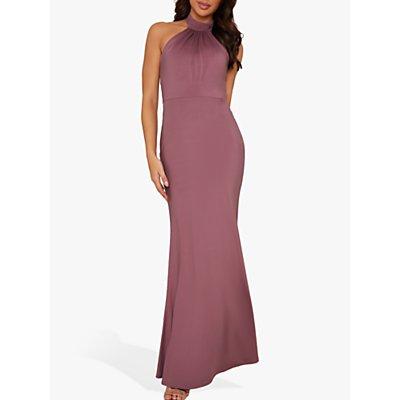 Chi Chi London Keelia Maxi Dress, Pink