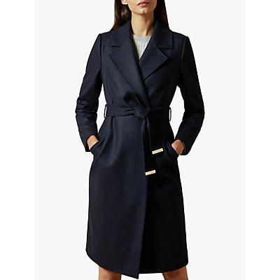 Ted Baker Stexa Wool Blend Wrap Coat