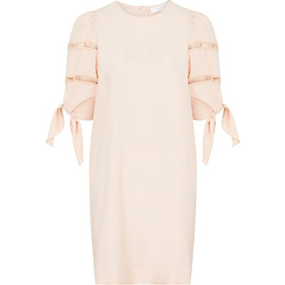 See By Chloé Tie Sleeve Shift Dress, Pink Sand