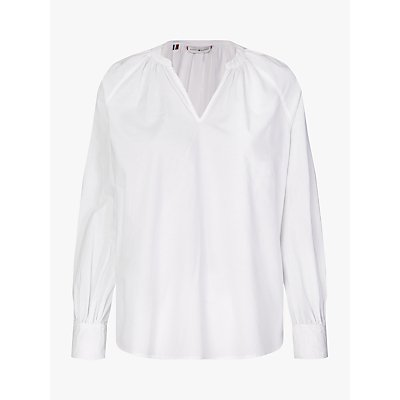 Tommy Hilfiger Lacie Long Sleeved Blouse, White