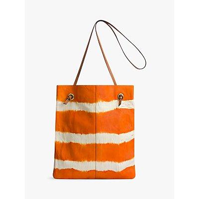 Gerard Darel Nomade Leather Tote Bag