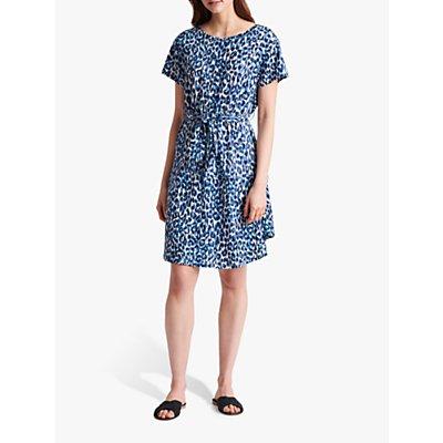 Gerard Darel Santana Jersey Linen Dress, Blue