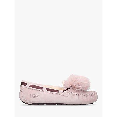 UGG Dakota Pom Pom Ballerina Flats, Pink