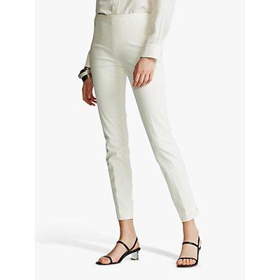 Polo Ralph Lauren Slim Leg Trousers, Warm White