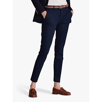 Polo Ralph Lauren Slim Straight Trousers, Aviator Navy