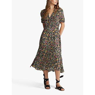 Polo Ralph Lauren Grace Floral Print Dress, Multi