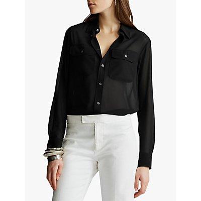 Polo Ralph Lauren Military Shirt, Polo Black
