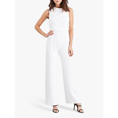 Damsel in a Dress Jovie Wide Leg Jumpsuit, White