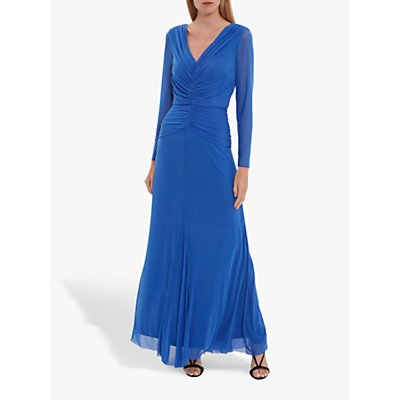 Gina Bacconi Kelly Mesh Maxi Dress