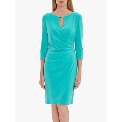 Gina Bacconi Brooke Jersey Wrap Dress