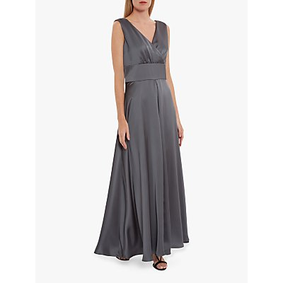 Gina Bacconi Scotia Satin Maxi Dress