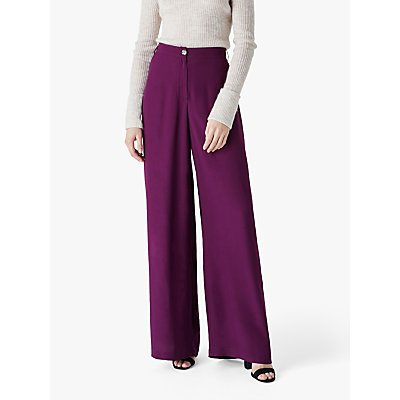 Finery Kaden Trousers, Purple